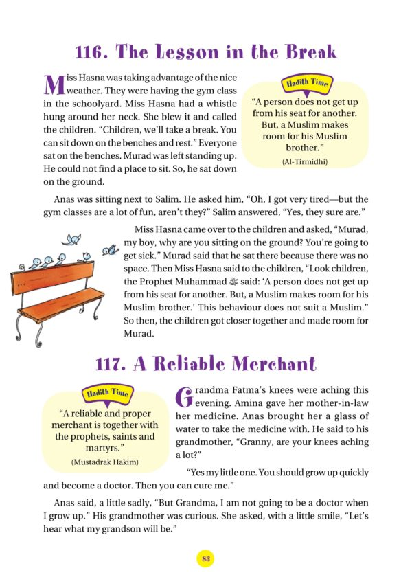 365 Hadith with stories-Good Word Books-page- (7)