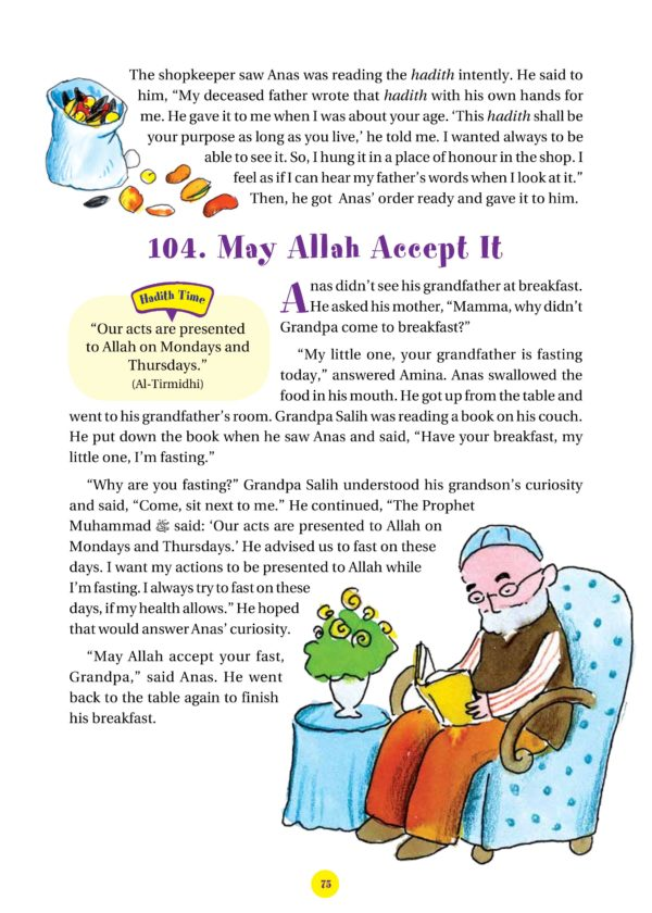 365 Hadith with stories-Good Word Books-page- (8)