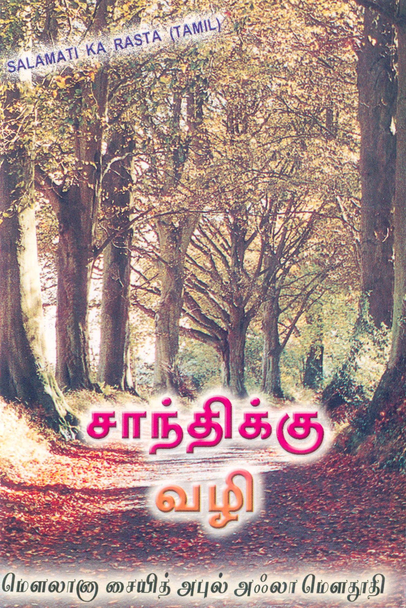 சாந்திக்கு வழி