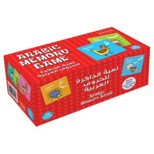 Arabic Memory Game Cards-Good Word Books