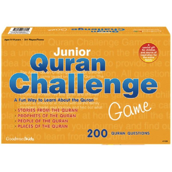 Junior Quran Challenge Game-Good Word Books