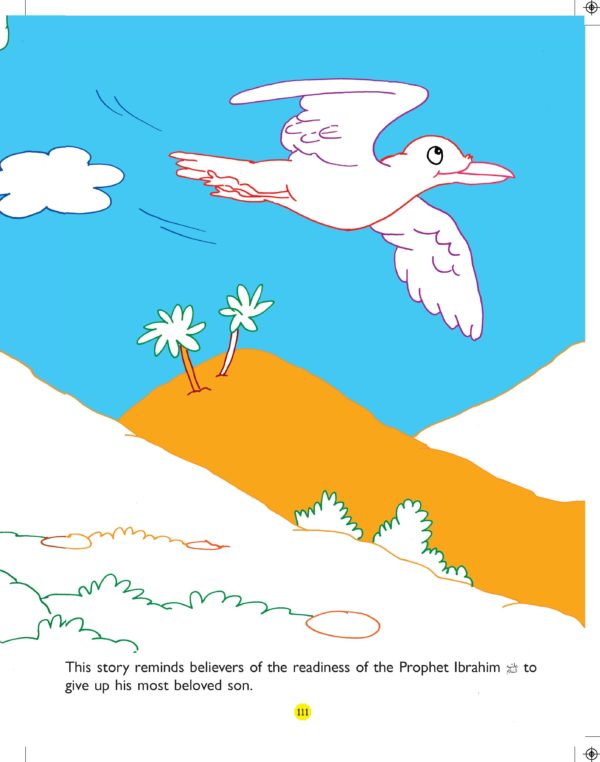 Stories from the Quran Big Colouring Book-Good Word Books-page- (3)