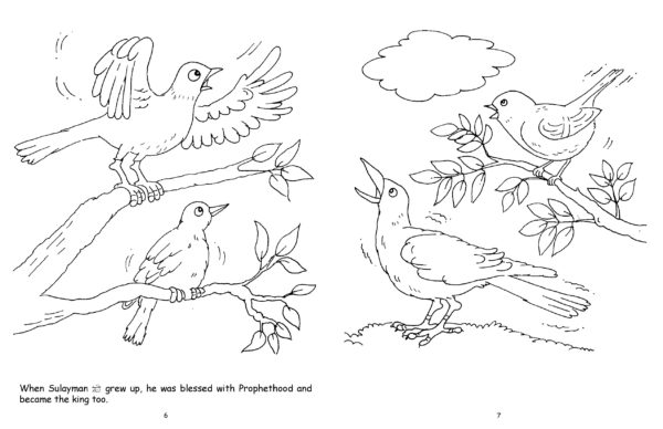 The Ant s Panic(Colouring Book)-Good Word Books-page- (3)