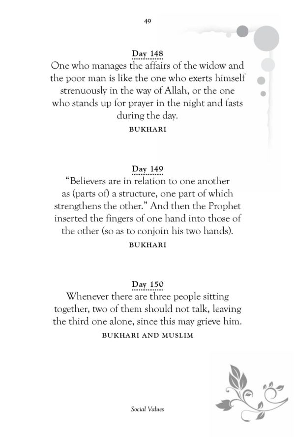 Daily HadithSayings of Prophet Muhammad-Good Word Books-page- (6)