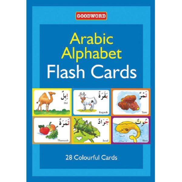 Arabic Alphabet Flash Cards-Good Word Books