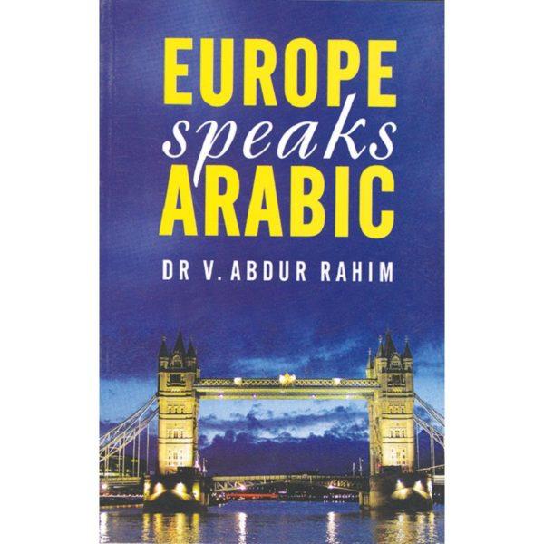 Europe Speaks Arabic-Good Word Books