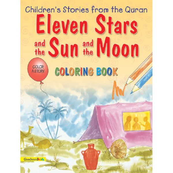 Eleven Stars and the Sun and the Moon (colouring Book)-Good Word Books