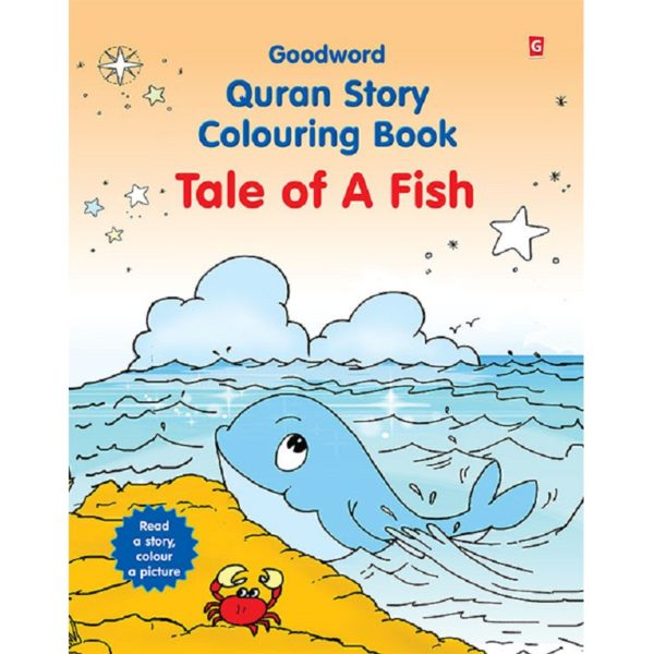 Tale of A Fish(Colouring Book)-Good Word Books
