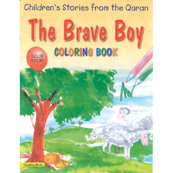 The Brave Boy (Colouring Book)-Good Word Books