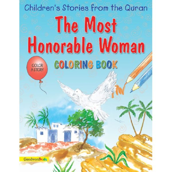 The Most Honorable Women(Colouring Book)-Good Word Books