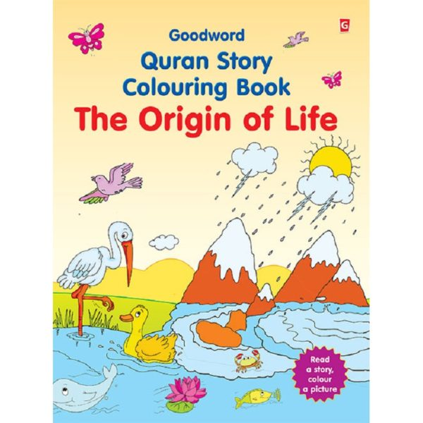 he Origin of Life (Colouring Book)-Good Word Books