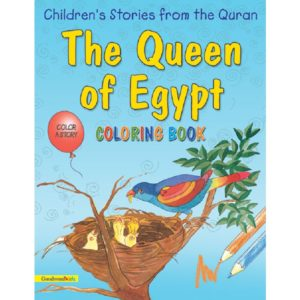 The Queen of Egypt(Colouring Book)-Good Word Books
