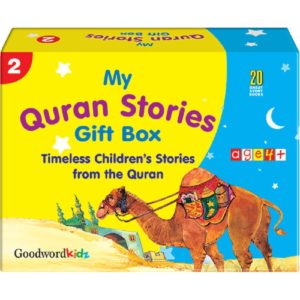 My Quran Stories Gift Box-2(Twenty Quran Stories For Little Hearts Paperback Books)-Good Word Books