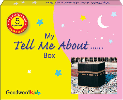 My Tell Me AboutGift Box (Gift Box of Five Paperback Books)-Good Word Books