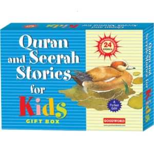 Qurn and Seerah Stories for Kids Gift Box(2 Hard Bound Books)-Good Word Books