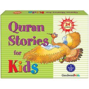 My Quran Stories for Kids Gift Box(2 Hard Bound Books)-Good Word Books