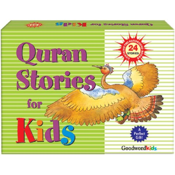 My Quran Stories for Kids Gift Box(2 Hard Bound Books)-Good Word Books