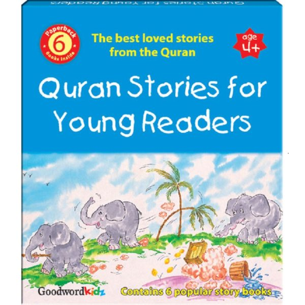 My Quran Stories for Young Readers(Six paperback Books)-Good Word Books