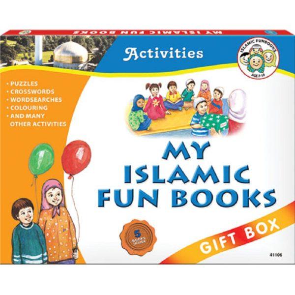 My Islamic Fun Book Gift Box (Five Paperback Books)-Good Word Books