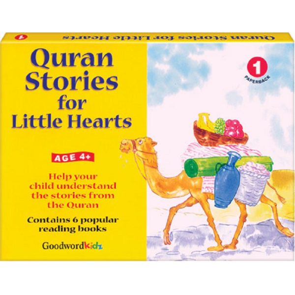 My Quran Stories for Little Hearts Gift Box-1(Six Paperback Books)-Good Word Books
