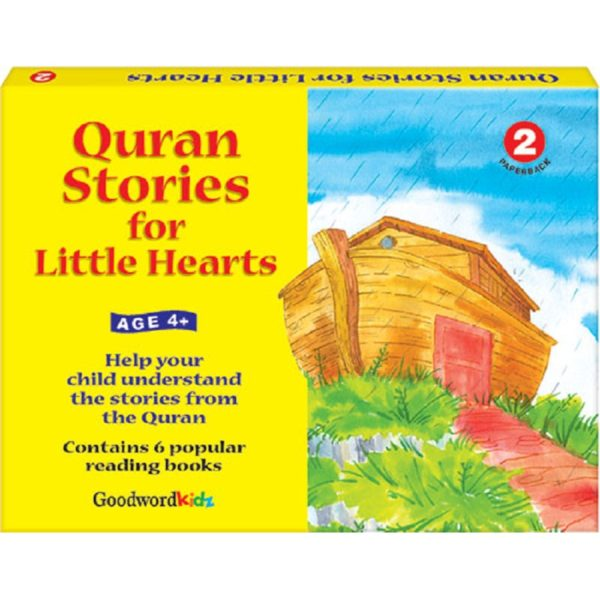 My Quran Stories for Little Hearts Gift Box-2(Six Paperback Books)-Good Word Books