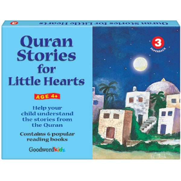 My Quran Stories for Little Hearts Gift Box-3(Six Paperback Books)-Good Word Books