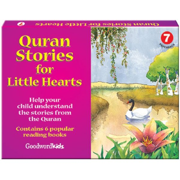 My Quran Stories for Little Hearts Gift Box-7(Six Paperback Books)