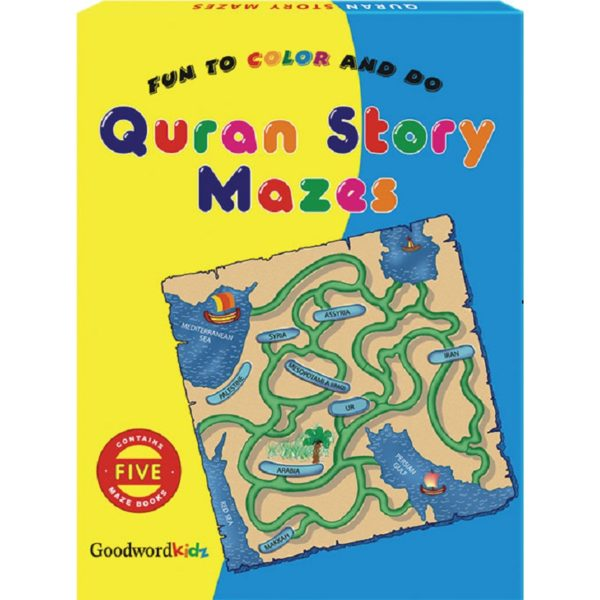 My Quran Story Mazes (Five Maze Books)Gift Box-Good Word Books