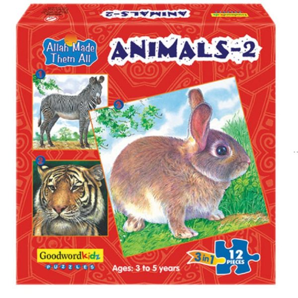 Animals 2-Good Word Books