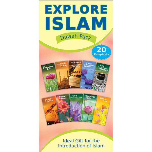 Explore Islam Dawah Pack (Twenty Leaflets)-Good Word Books