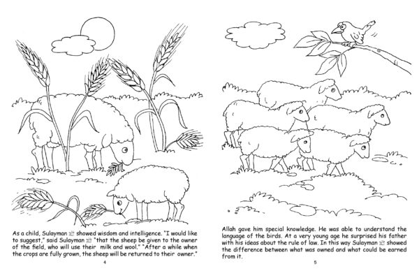 The Ant s Panic(Colouring Book)-Good Word Books-page- (2)