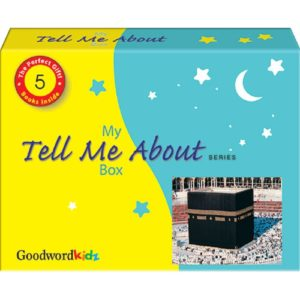 My Tell Me AboutGift Box (Gift Box of Five Hard Bound Books)-Good Word Books