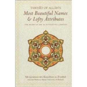 Tawhid of Allahs Most Beautiful Names & Lofty Attributes - Darussalam Books